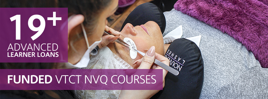 nvq level 2/ 3 beauty therapy courses
